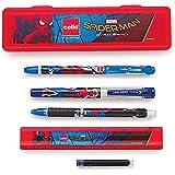 Cello Spiderman Kit Pen Set - Pack of 6 (Multicolor)