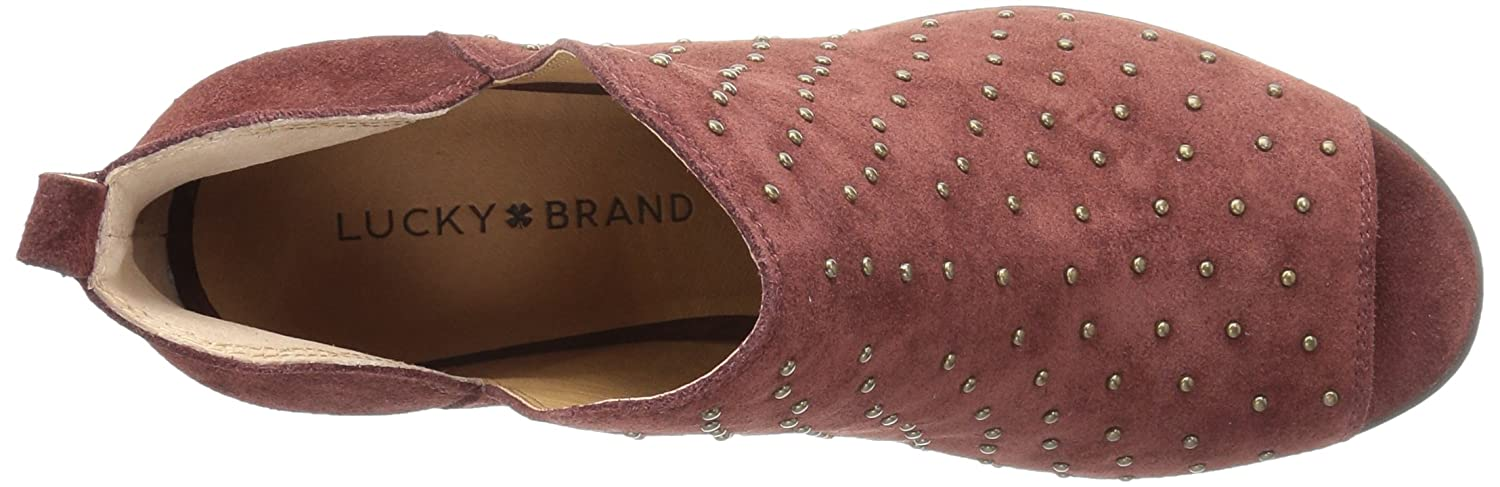 Lucky Brand Women's 5.5 Barlenna Ankle Boot B071YQLL7X 5.5 Women's M US|Sable 65b3a3