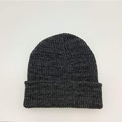 30d3e20297b Image Unavailable. Image not available for. Color  Liobaba Warm Beanie Knit  Hats Double-Deck Winter Outdoor for Travel Hiking Camping