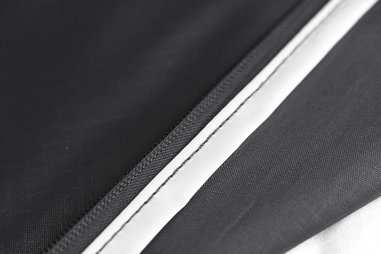 2pcs Brown Oxford Plaid Cloth storage bag EVST Under bed clothing storage bag