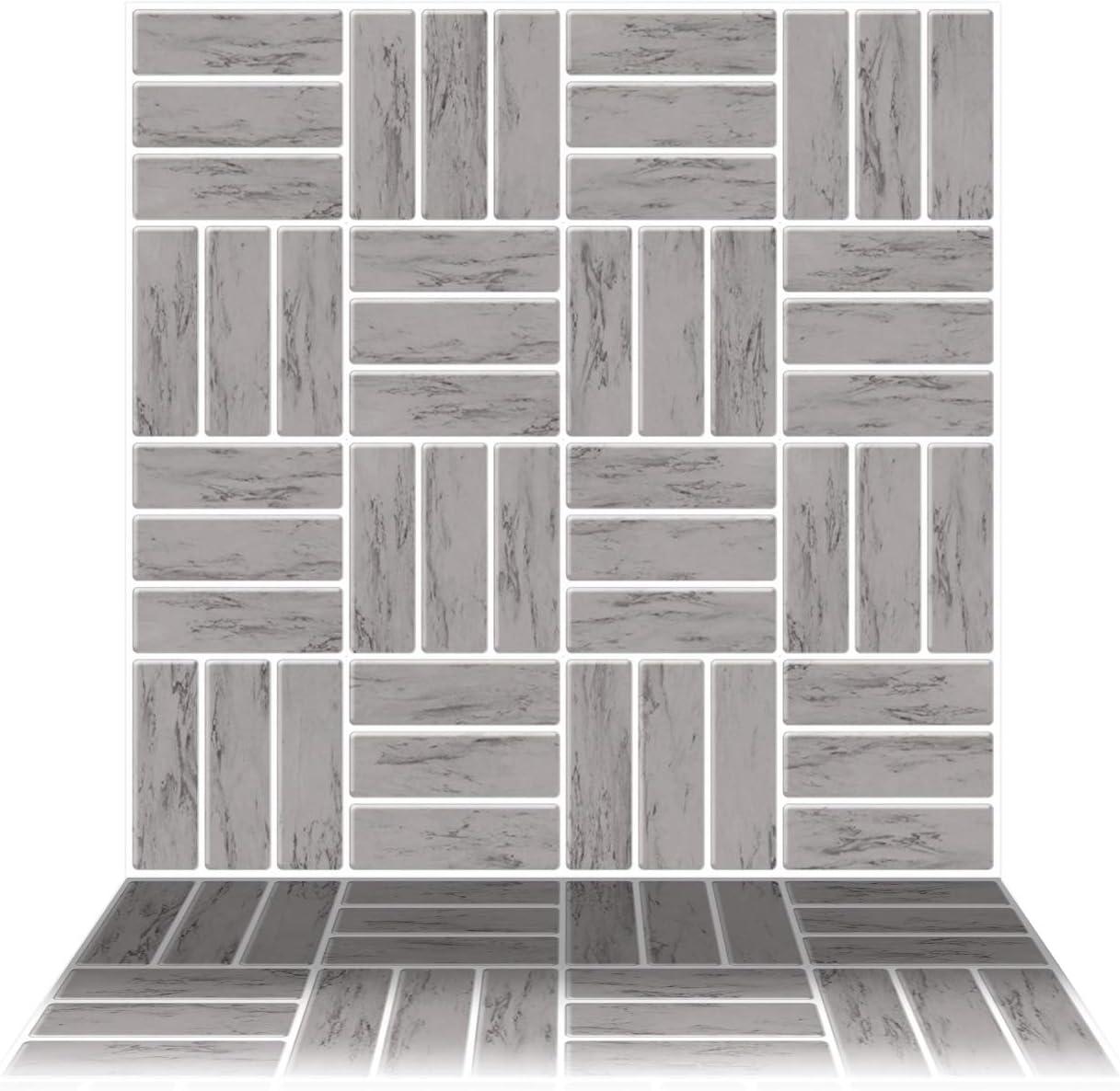 - Tic Tac Tiles 6-Sheet Peel And Stick 3D Tile Sticker Self Adhesive