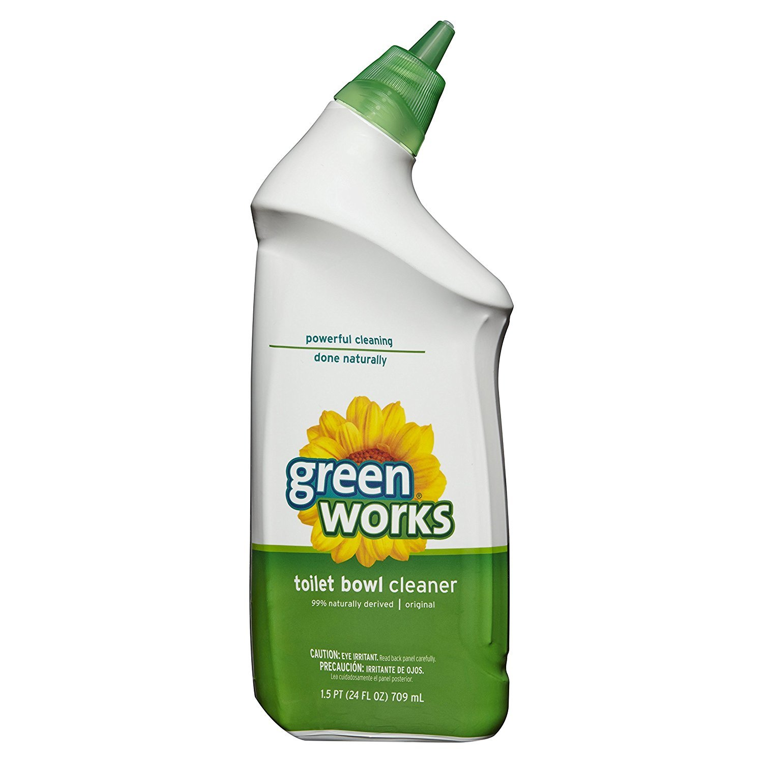 Green Works Toilet Bowl Cleaner, Toilet Gel Cleaner - 24 Ounces (Pack of 12) by Greenworks