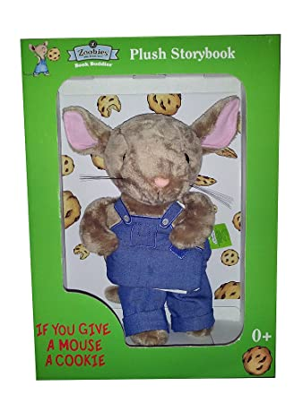 zoobies if you give a mouse a cookie plush storybook character