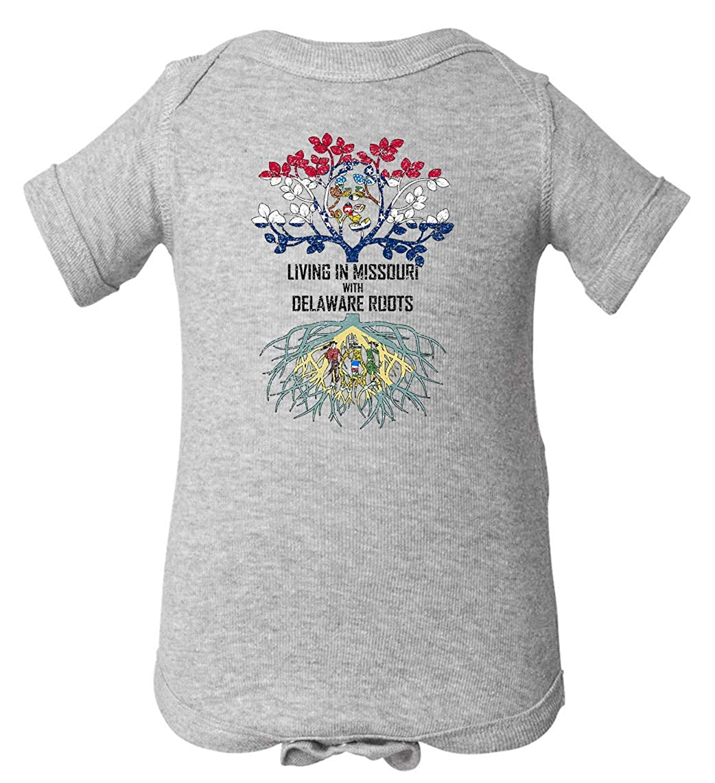 Tenacitee Babys Living in Missouri Delaware Roots Shirt