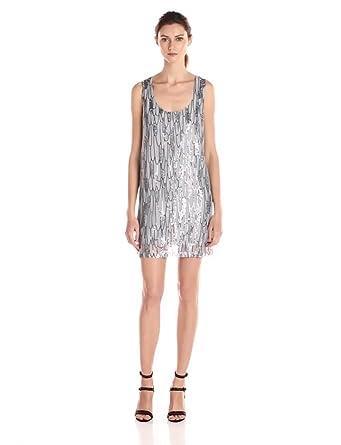 Silver Tank Dress