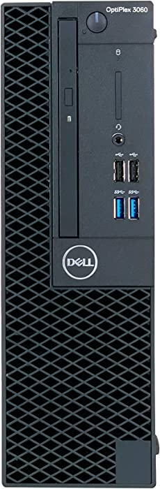 Dell Optiplex 3060 SFF Desktop - 8th Gen Intel Core i5-8500 6-Core Processor up to 4.10 GHz, 8GB DDR4 Memory, 500GB 7200 RPM SATA Hard Drive, Intel UHD Graphics 630, DVD Burner, Windows 10 Pro