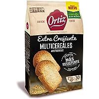 Ortiz Pan Tostado Multicereales, 30 rebanadas, 324gr
