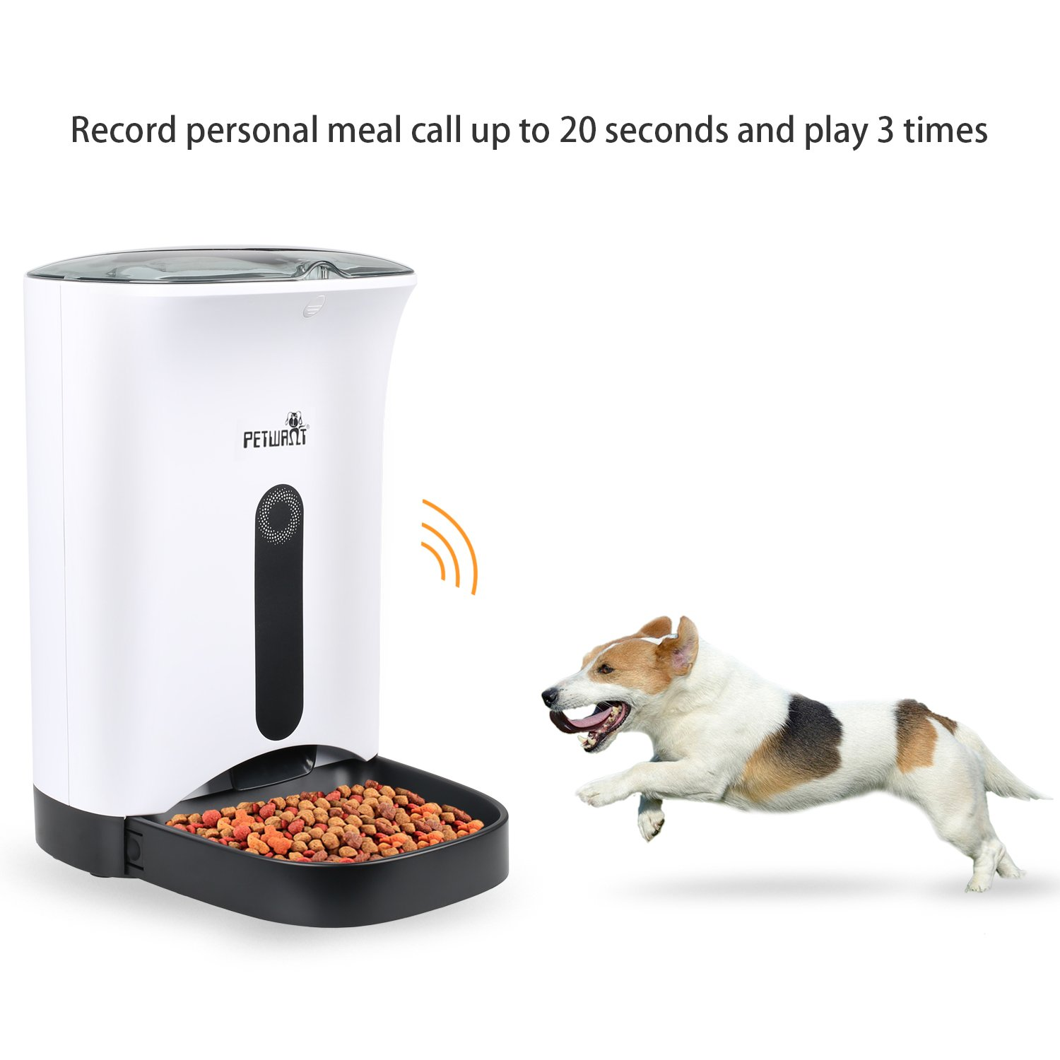 chow automatic feeder timer steel feeders pet dog miller galvanized lb c hound kp manufacturing
