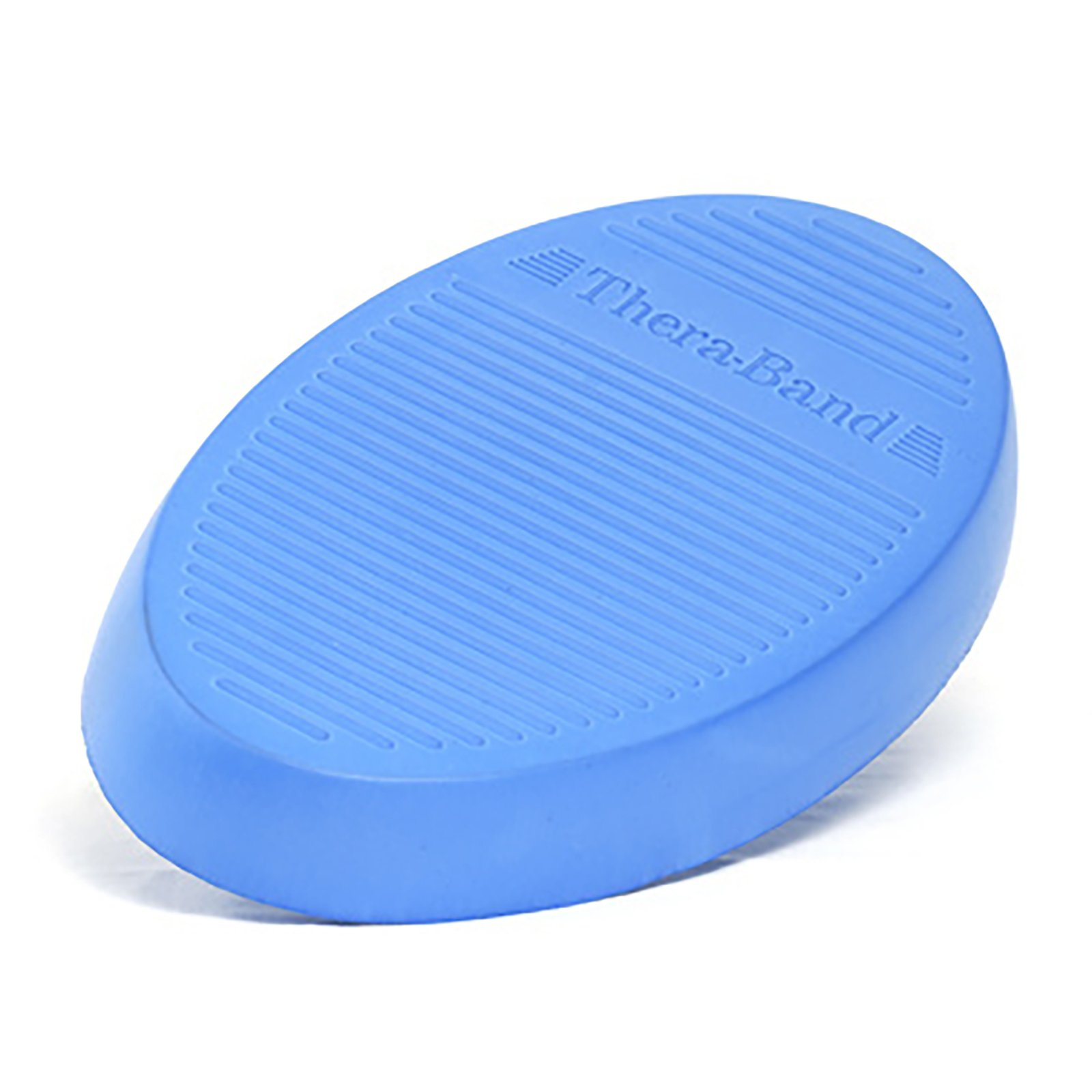 TheraBand Stability Trainer Pad, Intermediate Level Blue Foam Pad, Balance Trainer & Wobble Cushion for Balance & Core Strengthening, Rehabilitation, Physical Therapy, Round Sport Balance Trainer