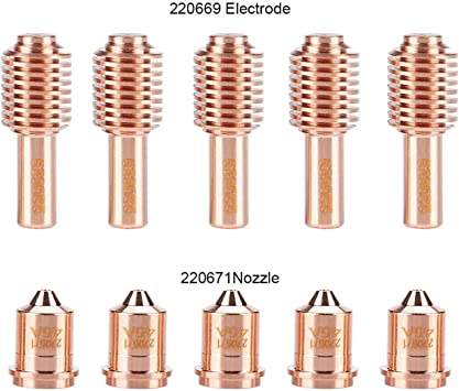 220669 220671 Plasma Torch Consumable Electrode Nozzle Tips Accessories