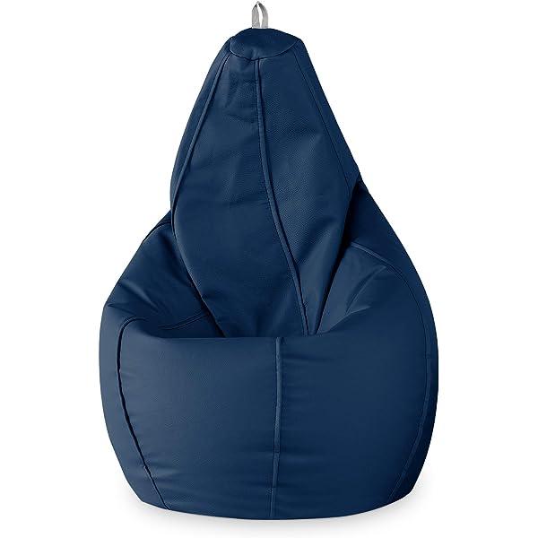 Happers Puff Pera Polipiel Jeans Azul Infantil: Amazon.es: Hogar