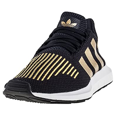 adidas Damen Swift Run W Fitnessschuhe, schwarz, 3.5 EU