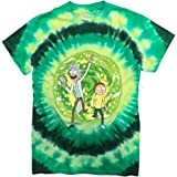 Ripple Junction Rick and Morty Large Portal Adult T-Shirt