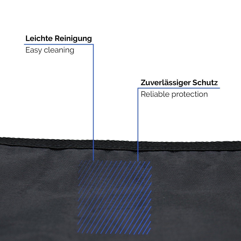 TECAROO Set 2/contenitori//organizer per sedile posteriore contenitore per sedile dellauto colore nero