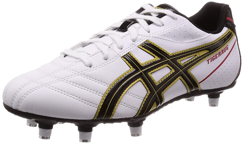 [アシックス] ラグビー スパイク サッカースパイク TIGERRUG SEED 3 B07KJ5RWRP ホワイト/ブラック 24.5 cm 24.5 cm|ホワイト/ブラック