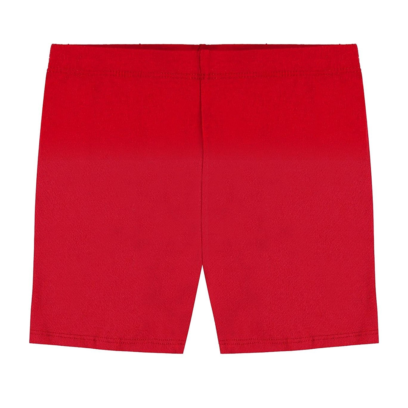 Hollywood Star Fashion Khanomak Girls' Cotton Bike Shorts for Sports, School Uniform Under Skirts (Sizes 2T- 12 Yrs) Kh003