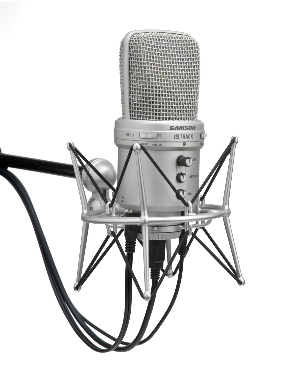 Samson G-Track USB Condenser Microphone with Audio Interface