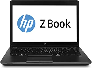 HP ZBook 14 Mobile Worksation 14 Inch PC, Intel Core i5-4300U up to 2.9GHz, 8G DDR3L, 256G SSD, VGA, DP, Windows 10 Pro 64 Bit Multi-Language Support English/French/Spanish(Renewed)