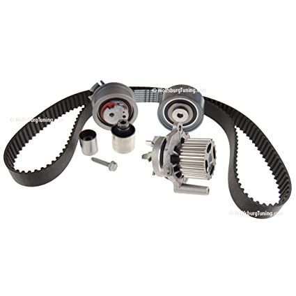 Amazon.com: Audi VW 09-14 A3 Beetle Golf Jetta CR 2.0 TDI Diesel Timing Belt kit Water Pump: Automotive