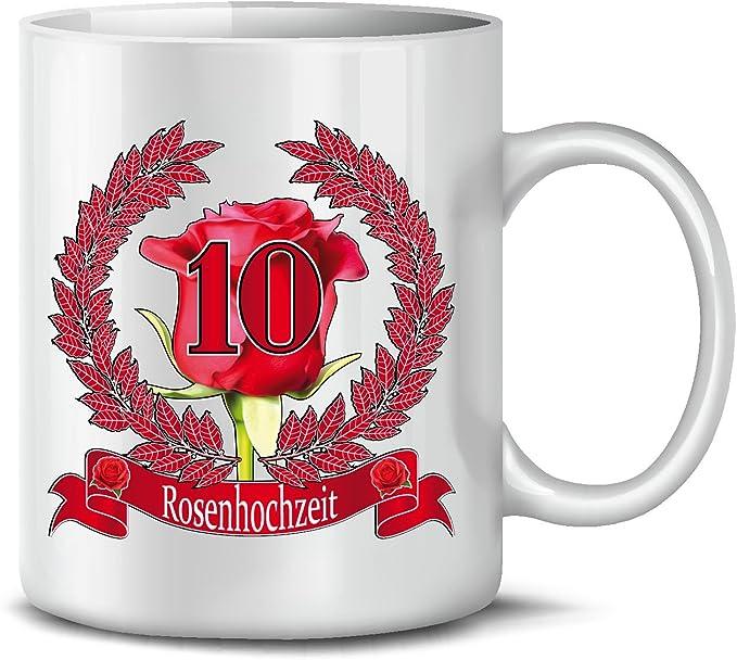 Golebros Rosenhochzeit Kaffeetasse