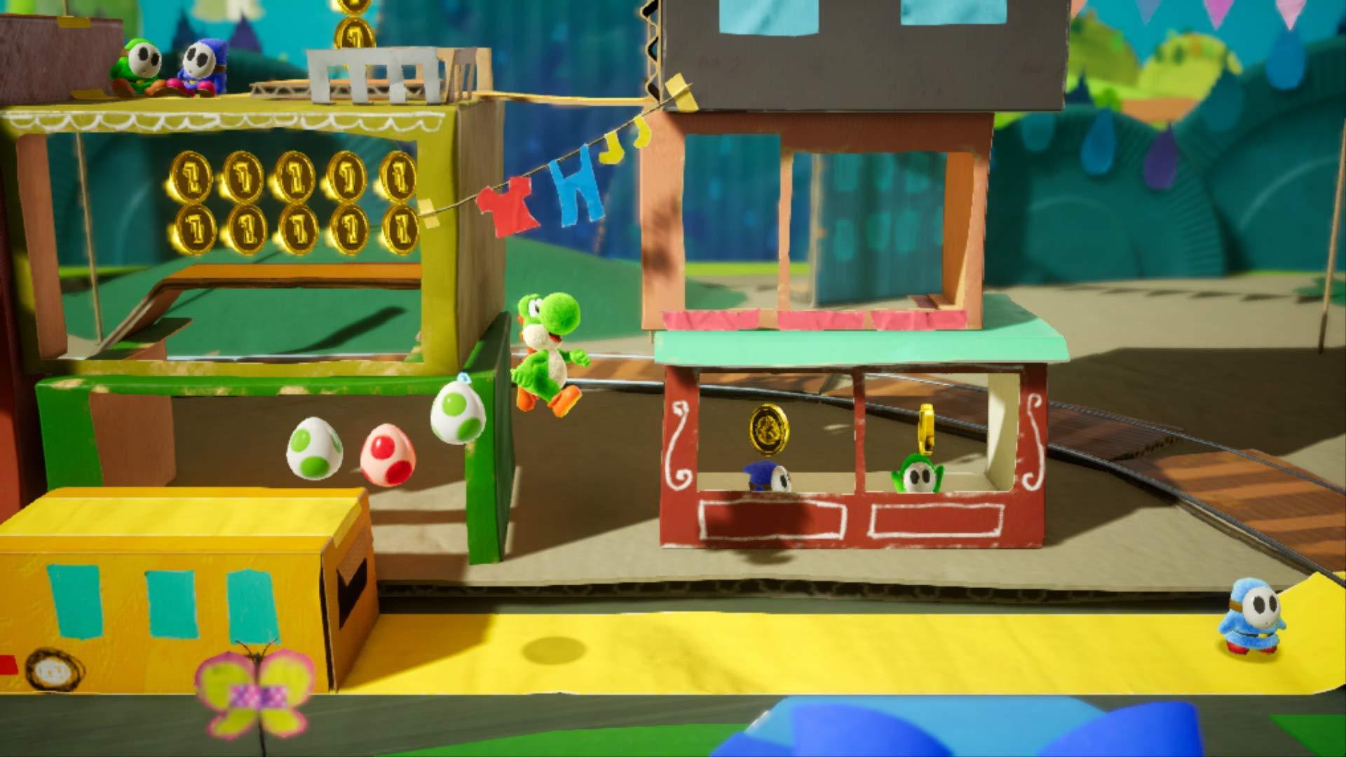 Yoshi's Crafted World - Nintendo Switch by Nintendo (Image #7)