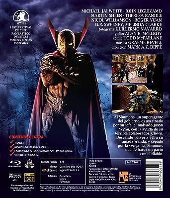 Spawn (Director´s Cut) BD 1997 [Blu-ray]: Amazon.es: Michael ...