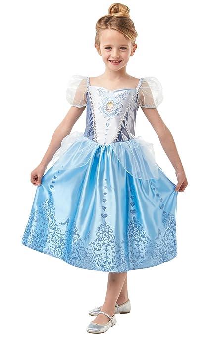 Disney Princesas Cenicienta Disfraz, L (Rubies Spain 640718-L)