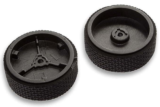 vhbw Kit de ruedas de repuesto para robots aspiradora, robots de limpieza iRobot Braava,