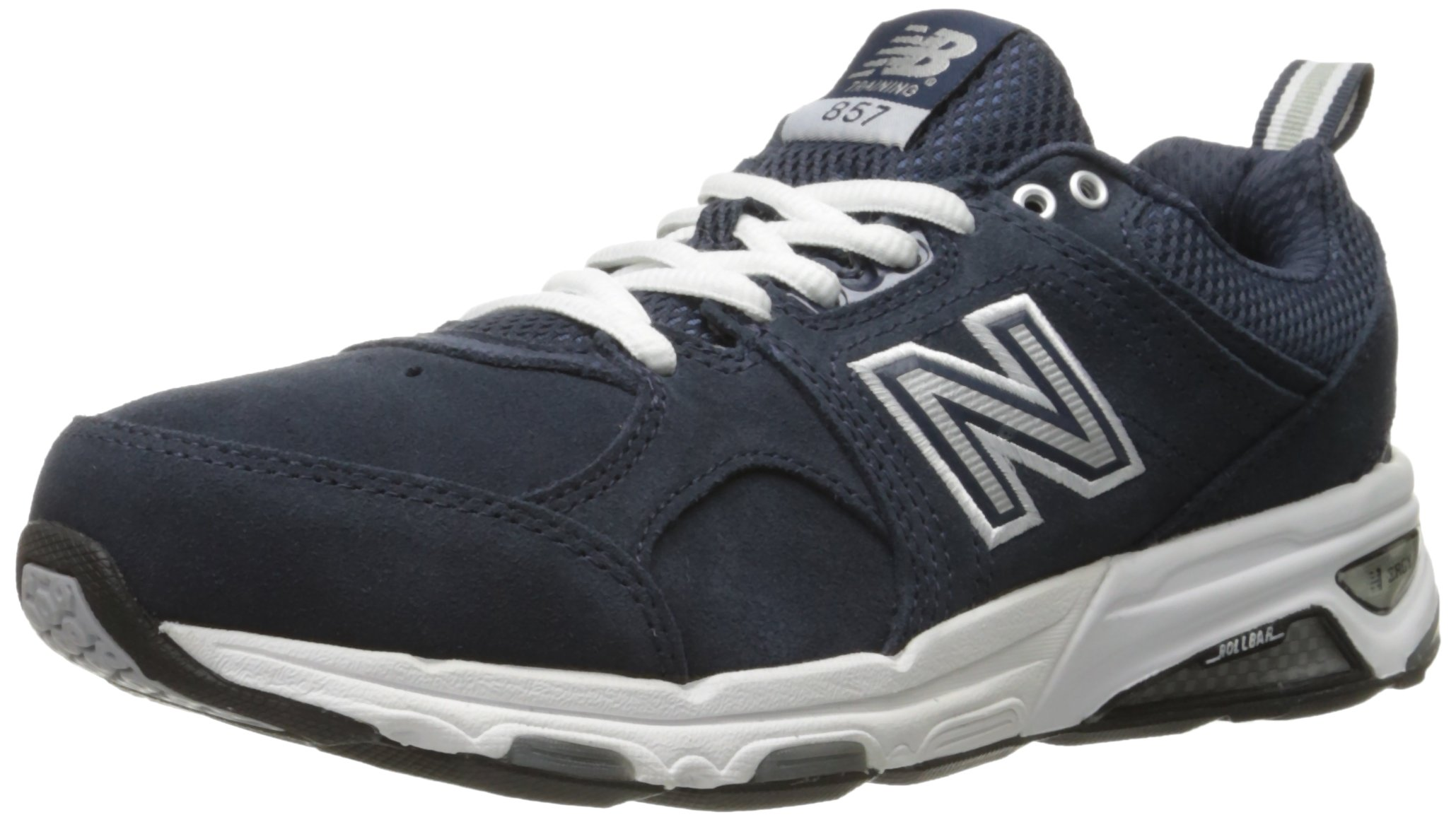 New Balance Women's WX857V1 Training Shoe, Navy/White, 7.5 D US
