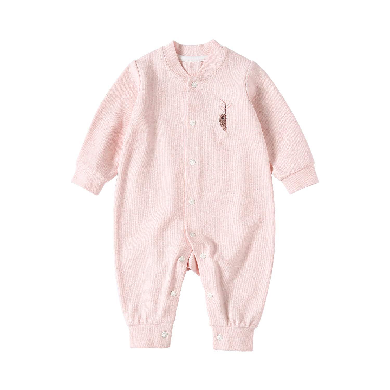 新しく着き pureborn SLEEPWEAR 6 ユニセックスベビー B07FP184MV ピンク 3 3 3 - 6 Months 3 - 6 Months|ピンク, プリナスビューティーショップ:c8289da4 --- ballyshannonshow.com