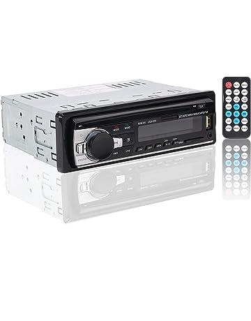 Autoradio Bluetooth, Rixow Manos Libres Estéreo de Coche, Apoyo de Reproductor MP3, Llamadas
