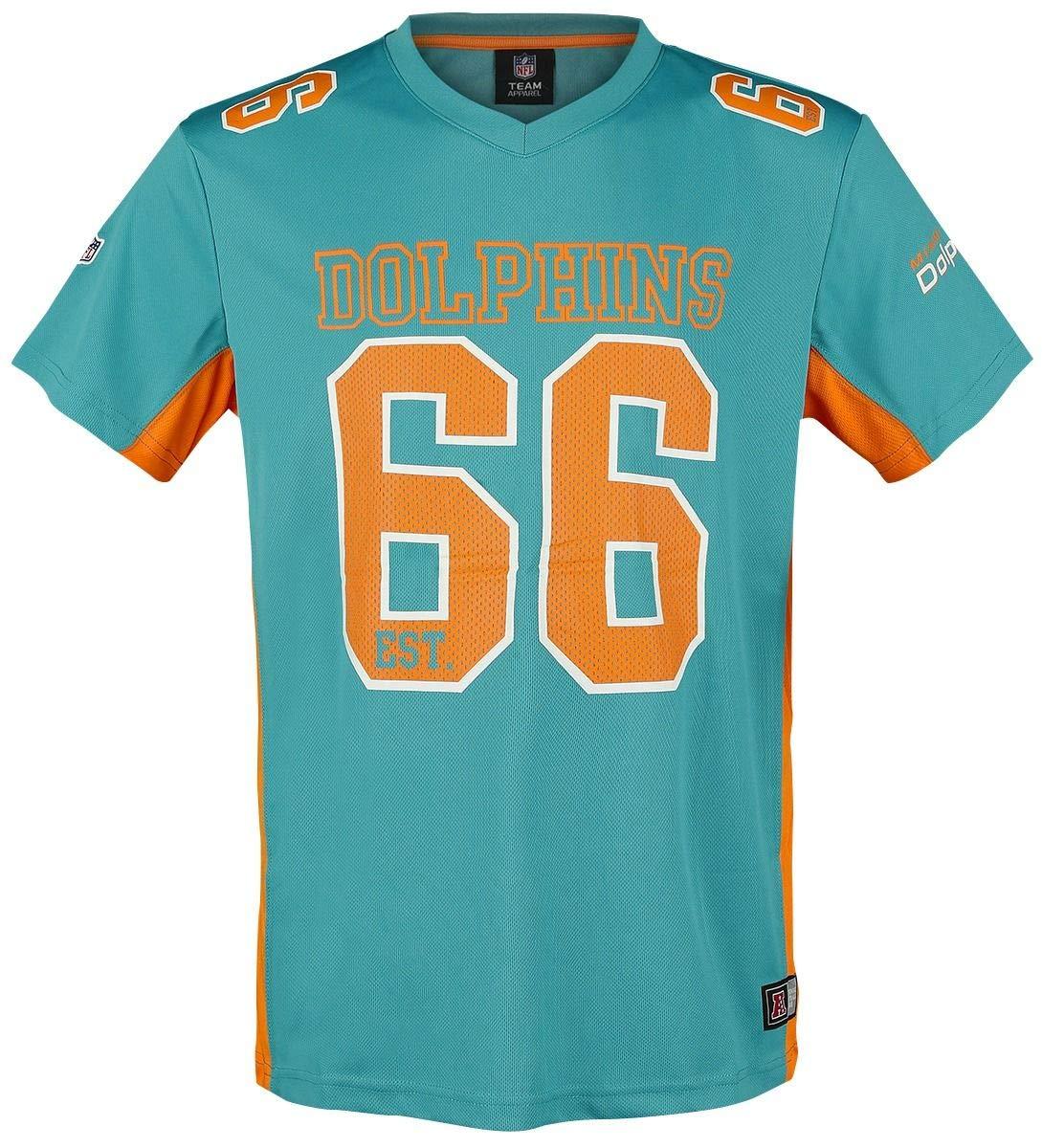 NFL Miami Dolphins T-Shirt grünblau S