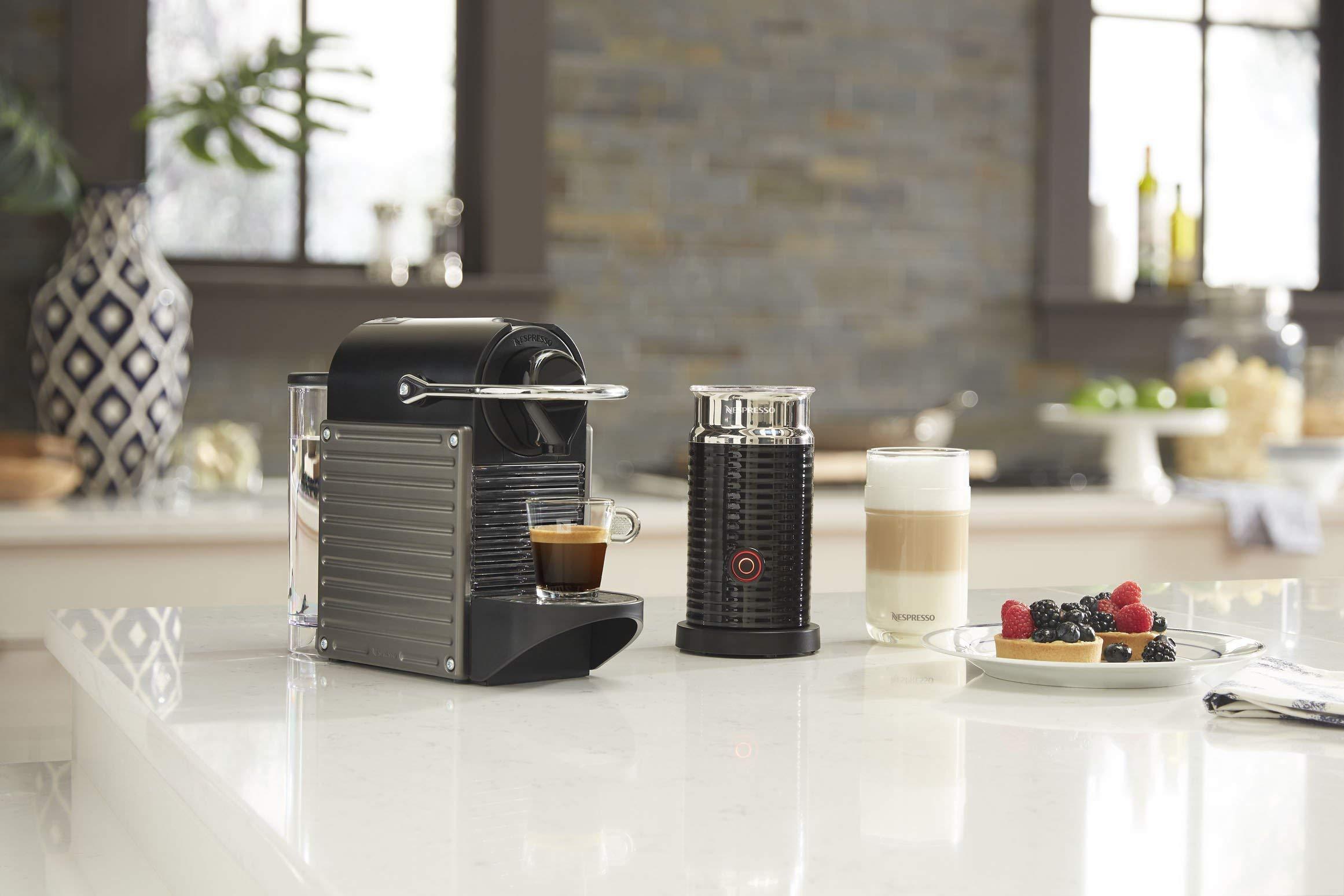 Breville BEC450TTN1AUC1 Pixie Espresso Machine Titan (Renewed) by Breville (Image #4)