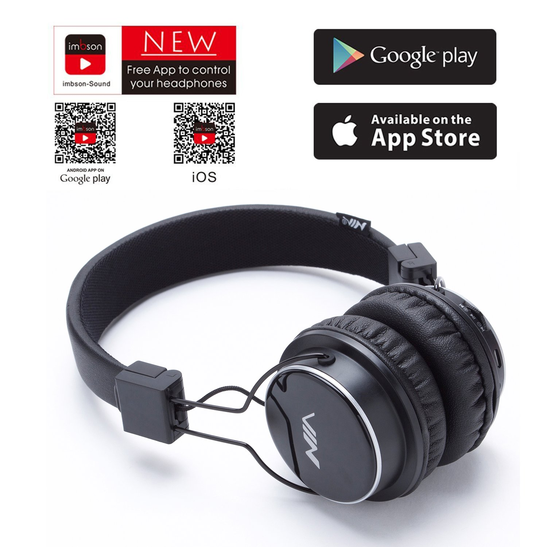 Auriculares inalámbricos Bluetooth, plegables, tarjeta TF, radio FM, entrada de audio con micrófono, color rosa negro: Amazon.es: Electrónica