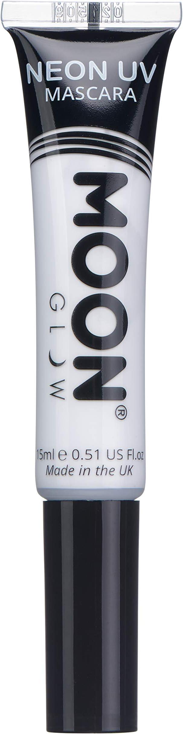 Moon Glow - Máscara de pestañas UV de neón 15ml Blanca - produce ...