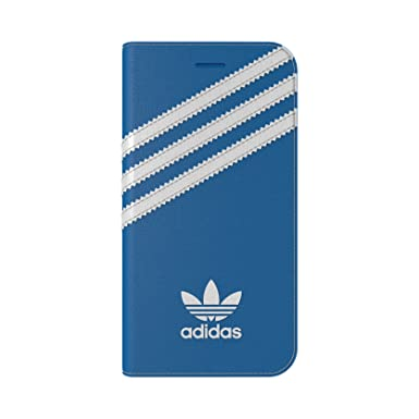 new product abed6 0e206 Adidas Originals Booklet Case for iPhone 8 / 7 - BlueBird / White