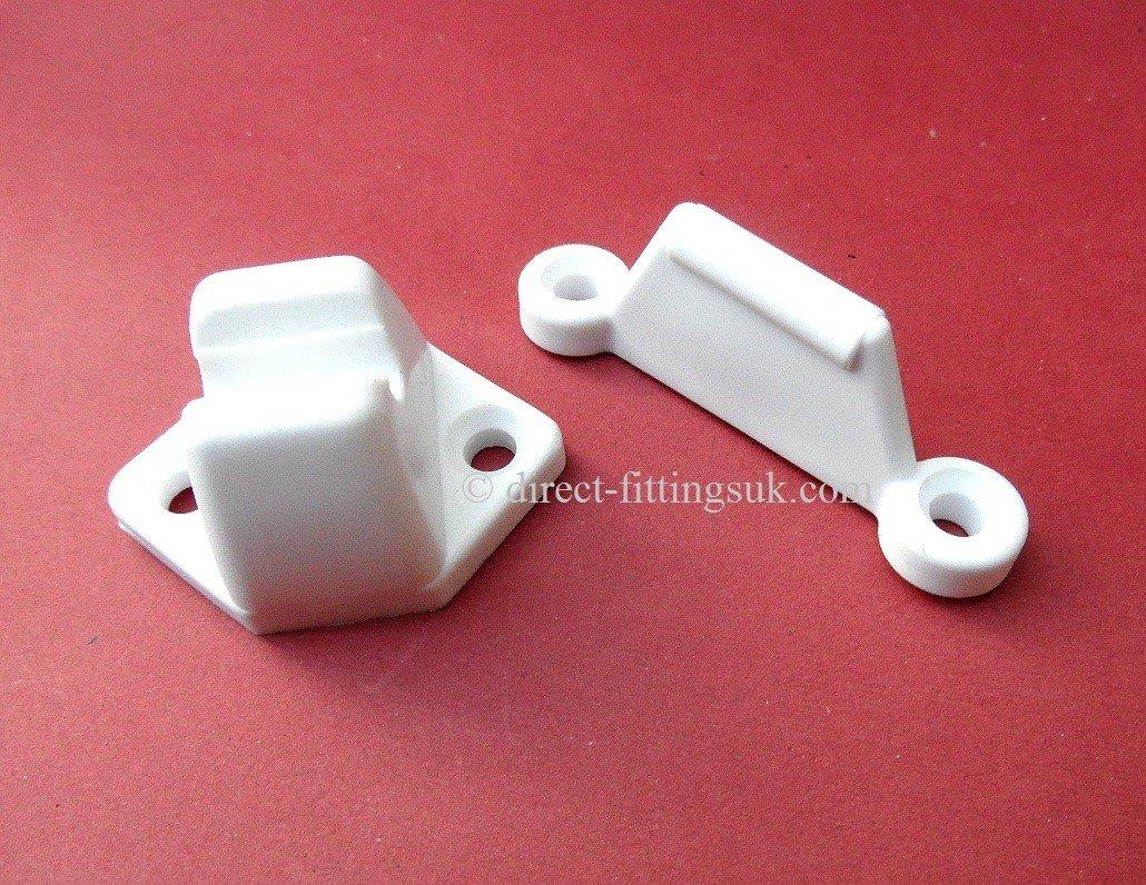 1 tope de puerta para caravana veneta/está ticas/mó viles/casa rodante Freno retenedor. Color blanco. direct-fittingsuk.com