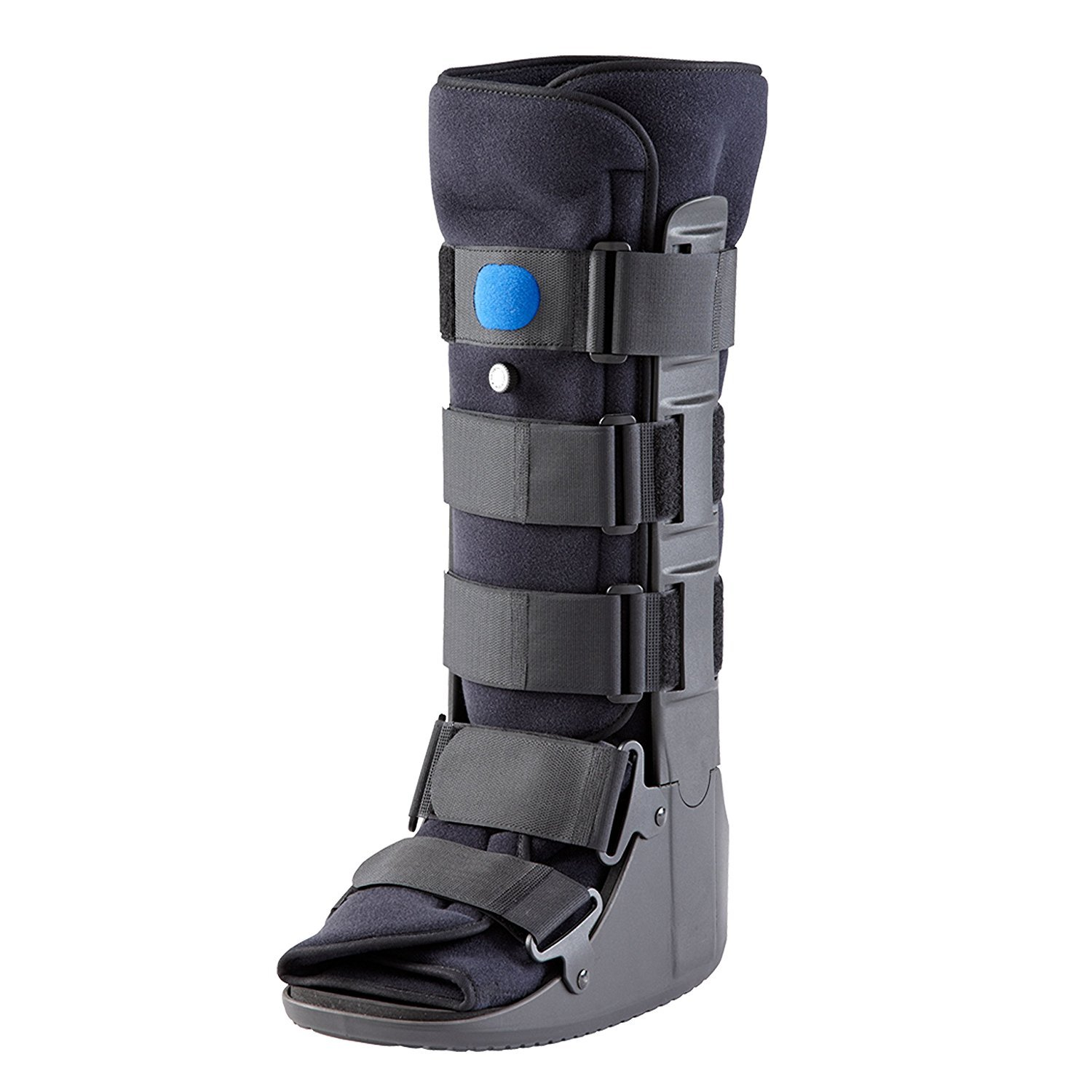 united surgical air walker fracture boot blue medium