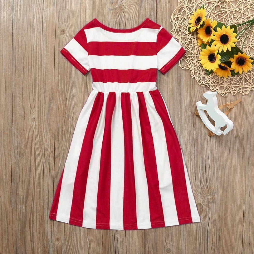 UOMOGO/® vestito da principessa i bambini si vestono abbigliamento per bambini vestito da bambino fiore bohemien principessa abito 6-9 Anni