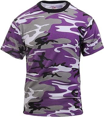 Rothco - Colored Camo T-shirts - Ultra Violet Camo