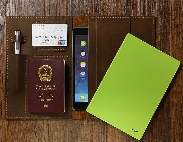 Amazon.com: A5 Moleskine Agenda notebook leather cover ...