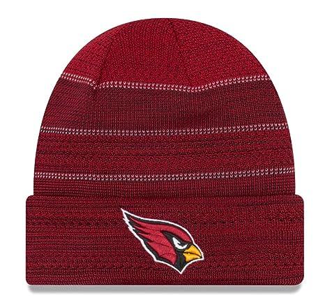 8f58598f Nike mens Arizona Cardinals New Era 2017 Sideline Official TD Knit Hat  CARDINALS-11460376 - Cardinal