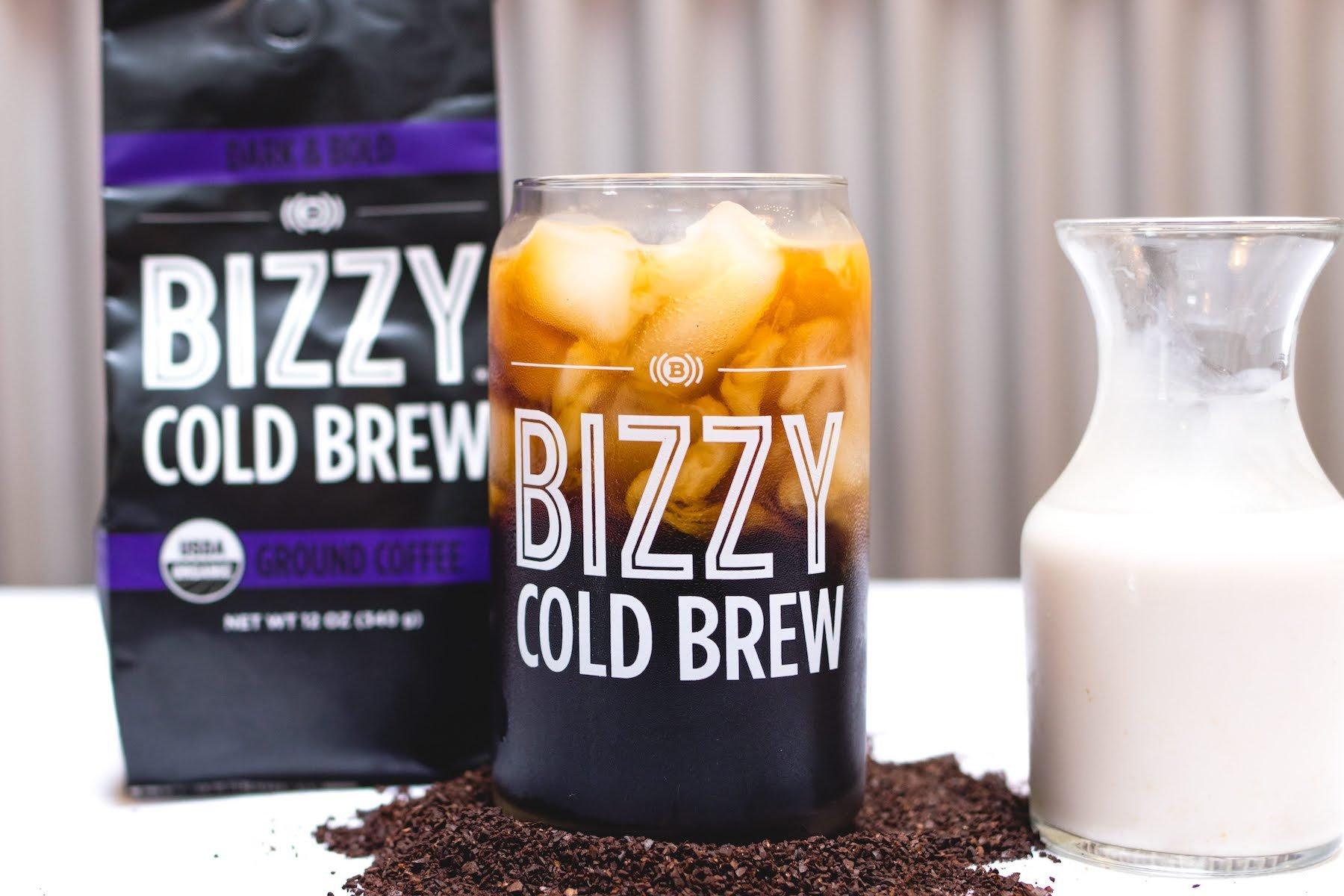 Bizzy Organic Cold Brew Coffee - Dark & Bold Blend - Coarse Ground Coffee - 12 oz by Bizzy (Image #7)