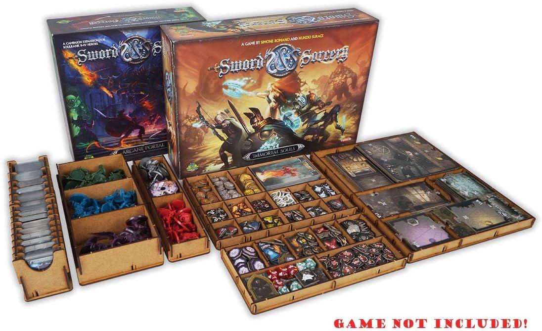 docsmagic.de Organizer Insert for Sword & Sorcery Box - Encarte: Amazon.es: Juguetes y juegos