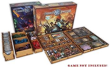 second Edition Box-uno Docsmagic.de Organizer INSERT for Mansions of Madness
