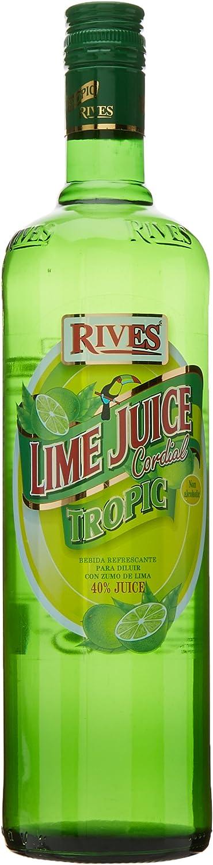 Rives Lime Juice Tropic Zumo de Lima para Diluir, 1L: Amazon ...