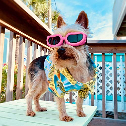 Kailian Dog Goggles Stylish Waterproof Anti-Ultraviolet Sunglasses for Doggie Puppy