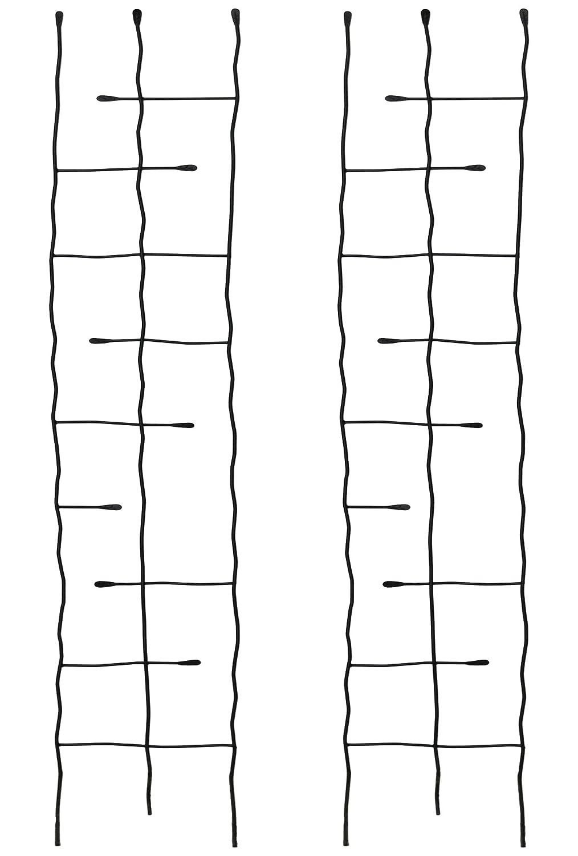 アイアンフェンス フィーユ スリムタイプ 幅26cm×高さ182cm 4枚セット SS-IPN-7406-4P B01HTHIE1S 幅26cmタイプ 4枚セット  幅26cmタイプ 4枚セット