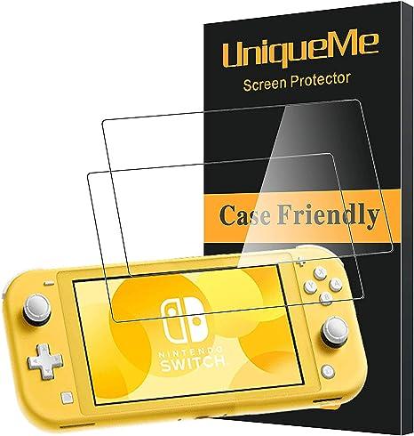 3 PACK] UniqueMe Protector de Pantalla para Nintendo Switch Lite ...