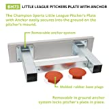 Champion Sports Youth Anchor Style Pitcher's Plate